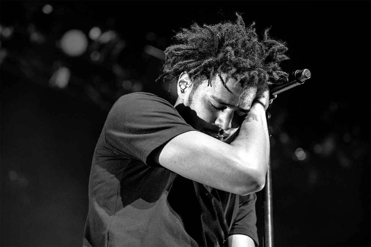 2015, J.Cole at the Bell Centre - Concert photography