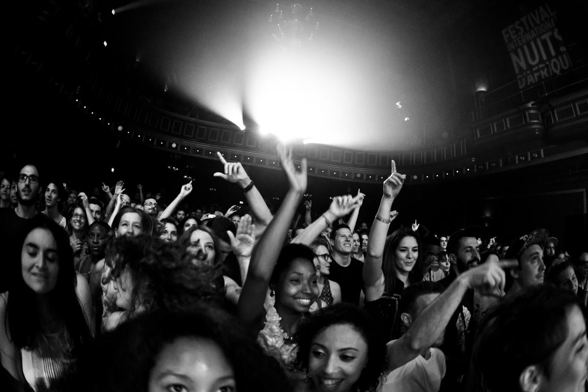 2015, Public de Patrice au National - Photographie de concert